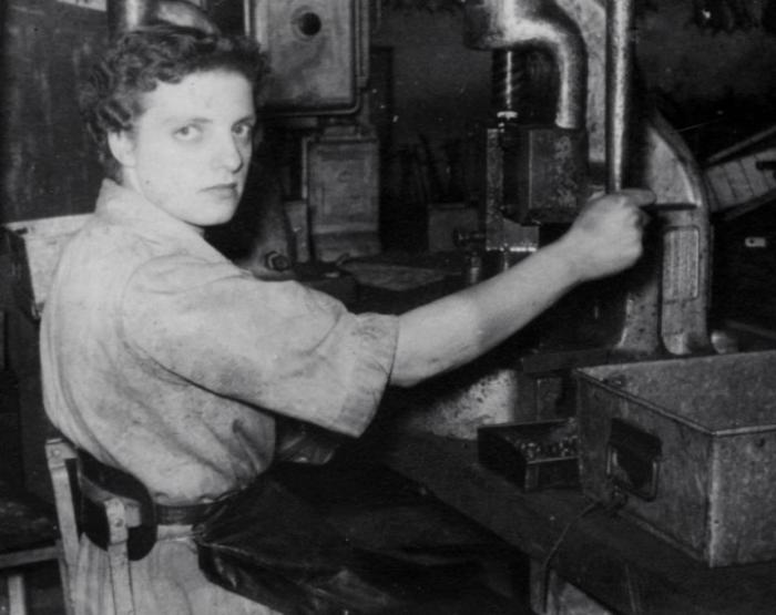 Colleage Of Marjorie Collins At Work In Triang Toy Factory Merthyr Tydfil